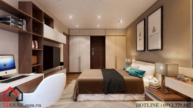 Thiết kế nhà chung cư hiện đại 14