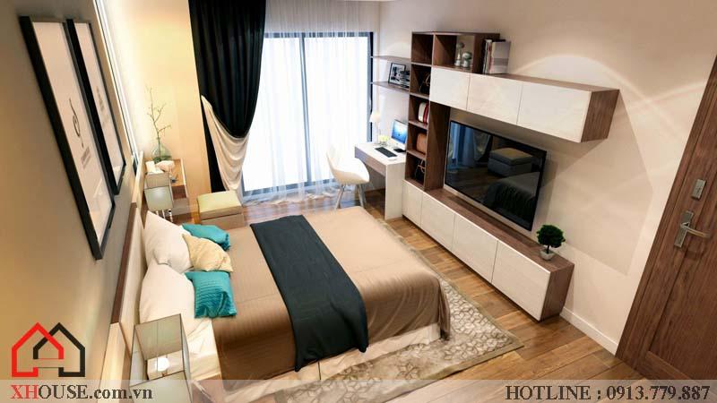 Thiết kế nhà chung cư hiện đại 16