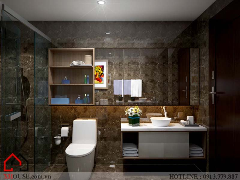 Thiết kế nhà chung cư hiện đại 19