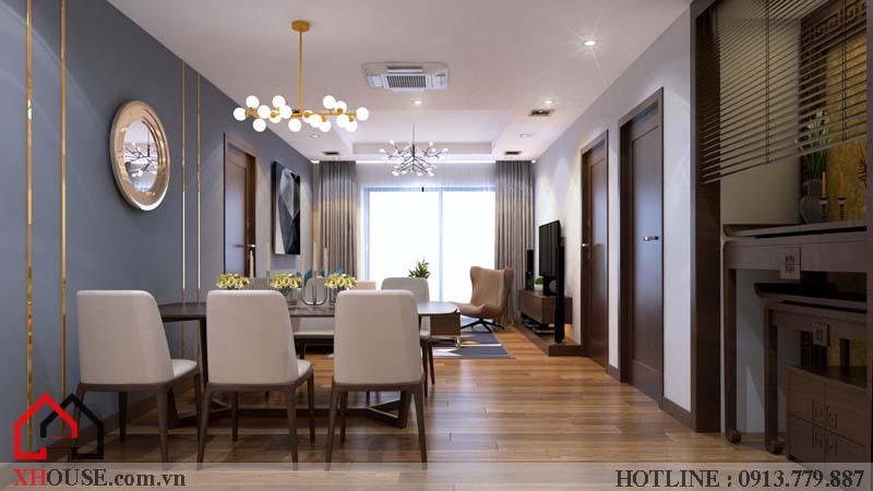 Thiết kế nhà chung cư hiện đại 2