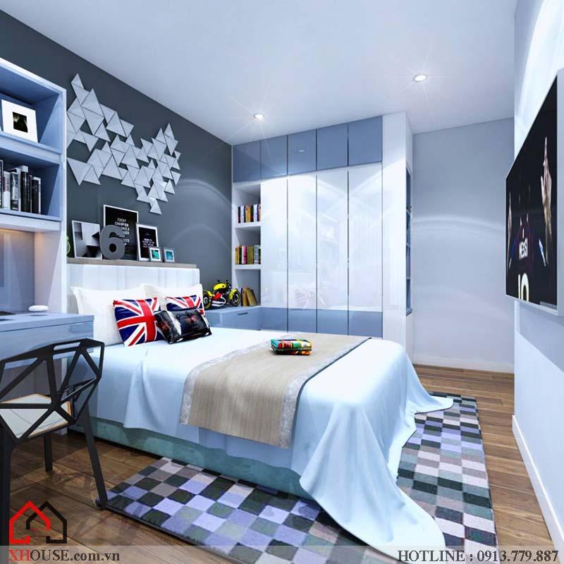 Thiết kế nhà chung cư hiện đại 21