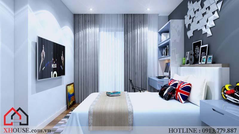 Thiết kế nhà chung cư hiện đại 24