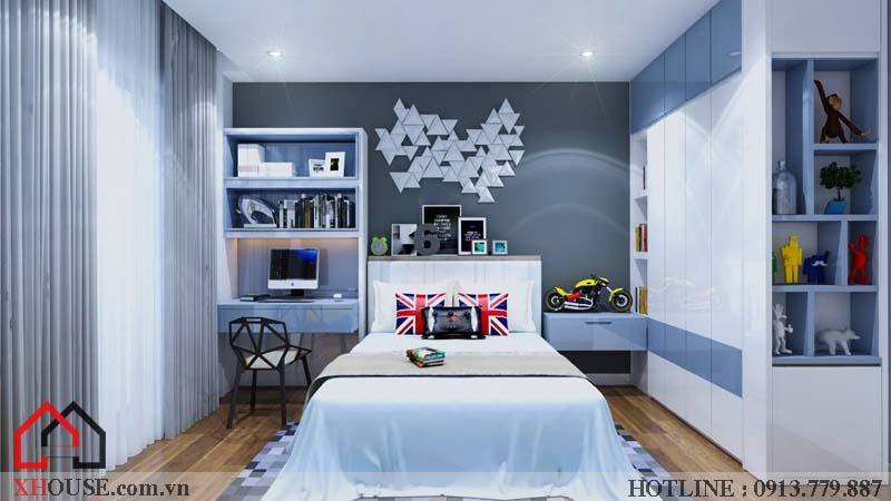 Thiết kế nhà chung cư hiện đại 26