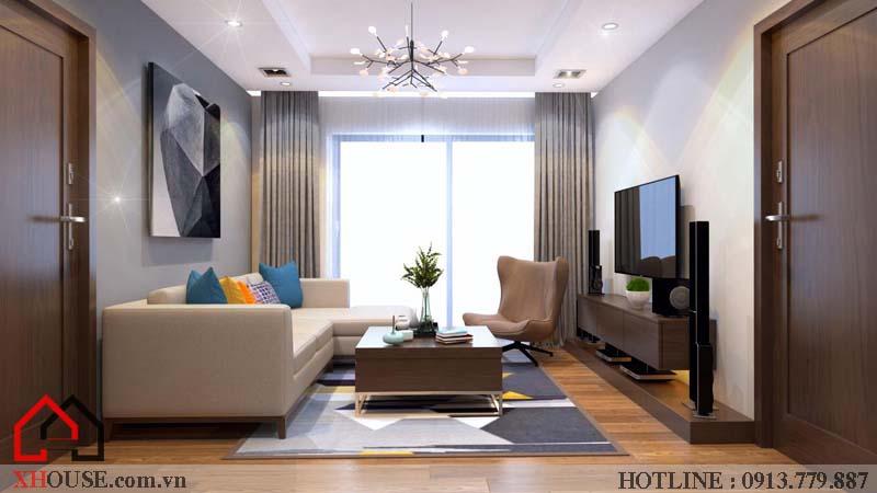 Thiết kế nhà chung cư hiện đại 3