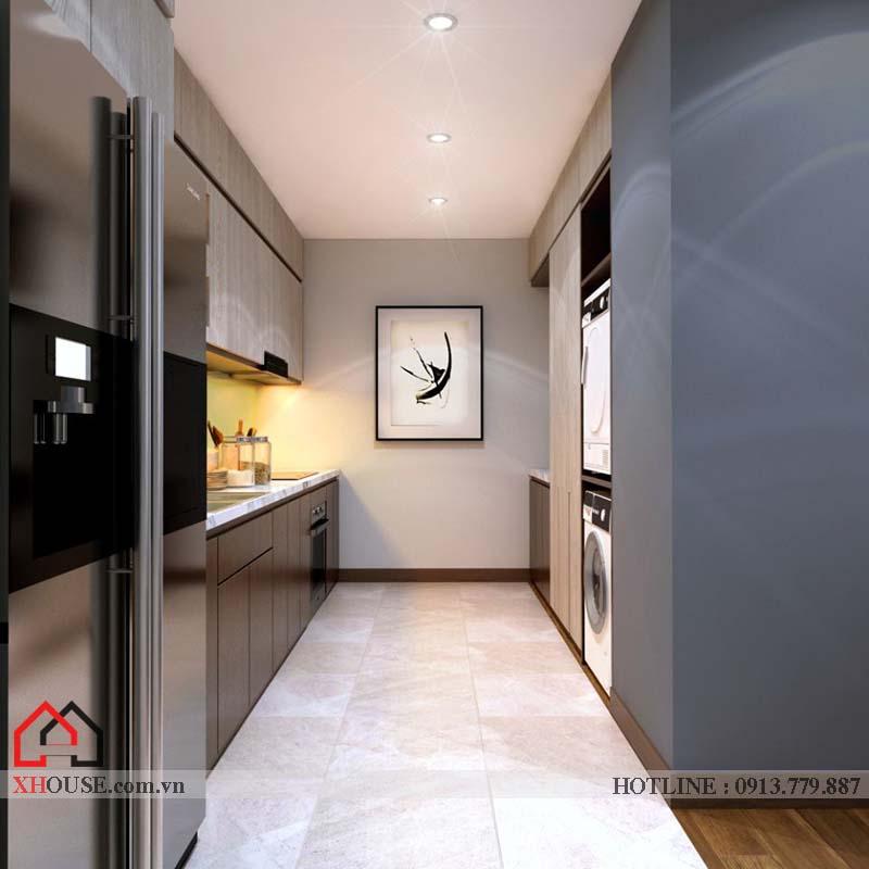 Thiết kế nhà chung cư hiện đại 5