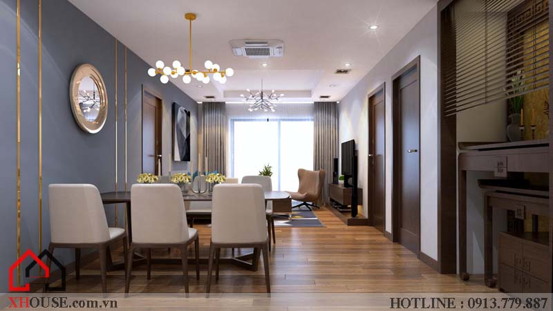 Thiết kế nhà chung cư hiện đại 6