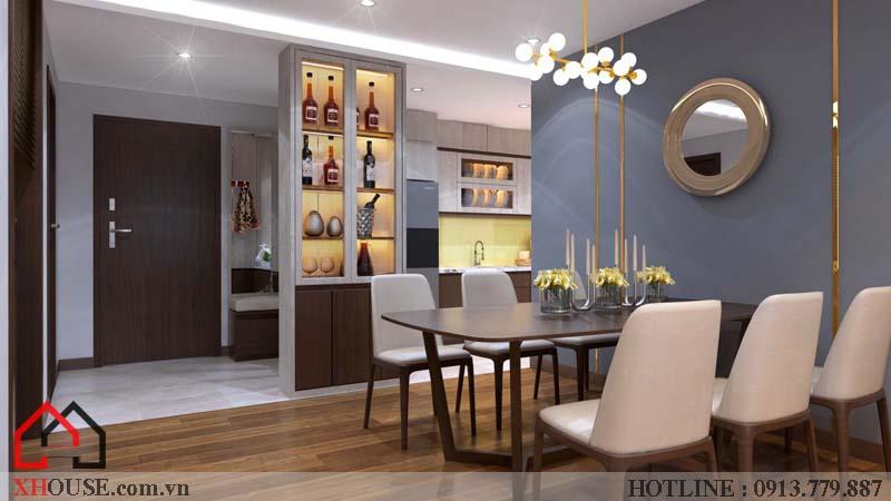 Thiết kế nhà chung cư hiện đại 7