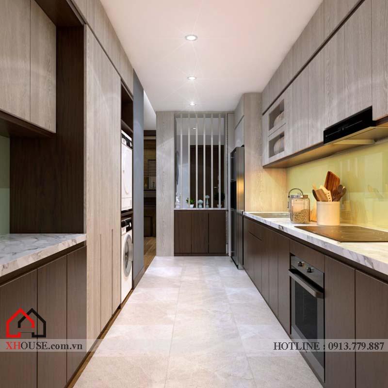 Thiết kế nhà chung cư hiện đại 8
