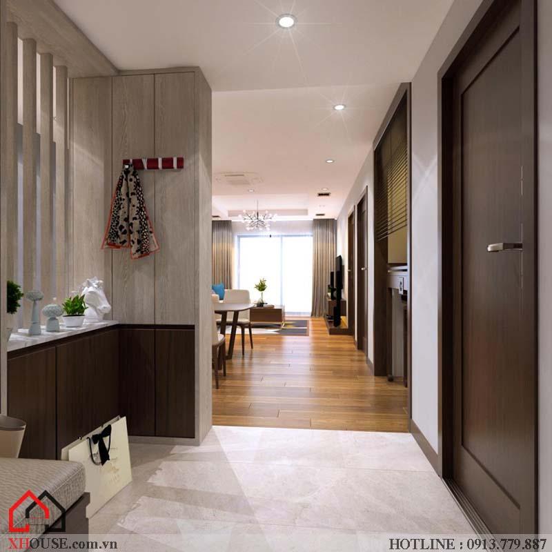 Thiết kế nhà chung cư hiện đại 9