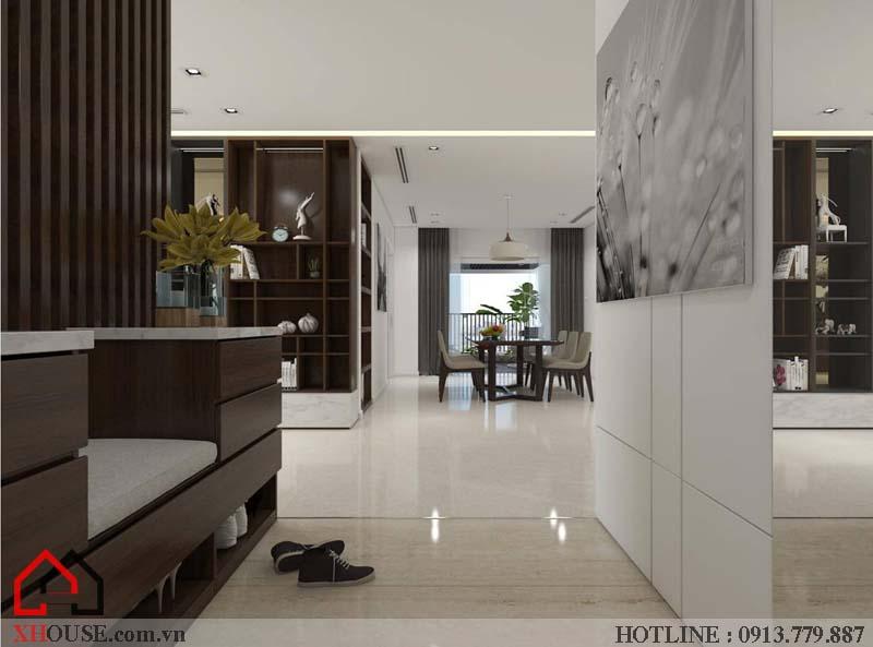 Mẫu thiết kế nhà đẹp 170m2 1