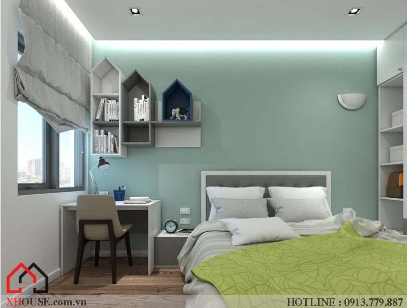 Mẫu thiết kế nhà đẹp 170m2 14