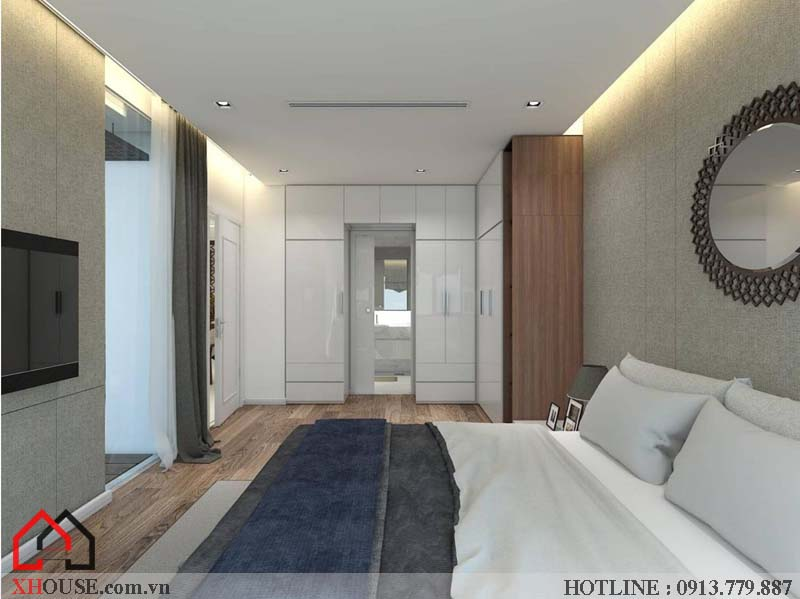 Mẫu thiết kế nhà đẹp 170m2 17