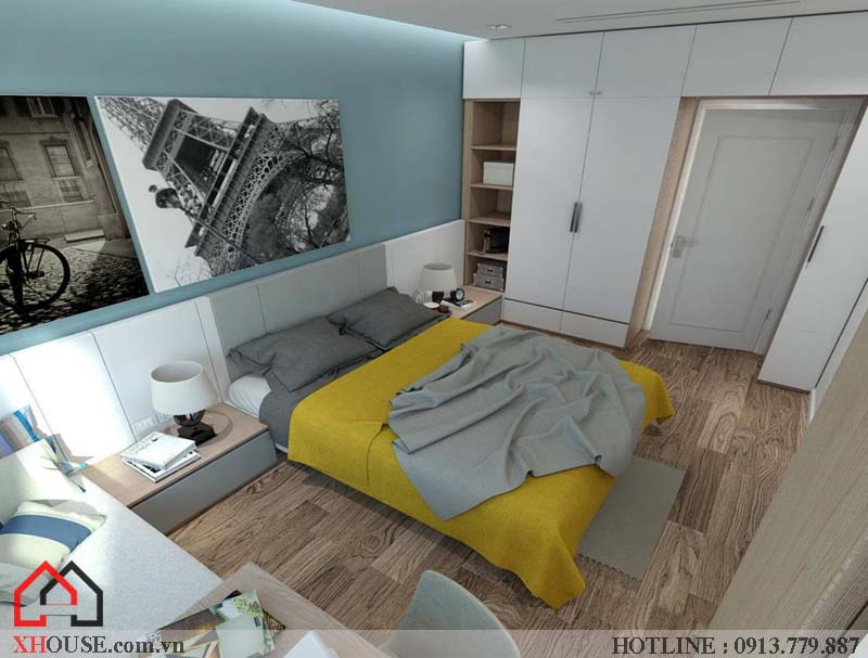 Mẫu thiết kế nhà đẹp 170m2 24