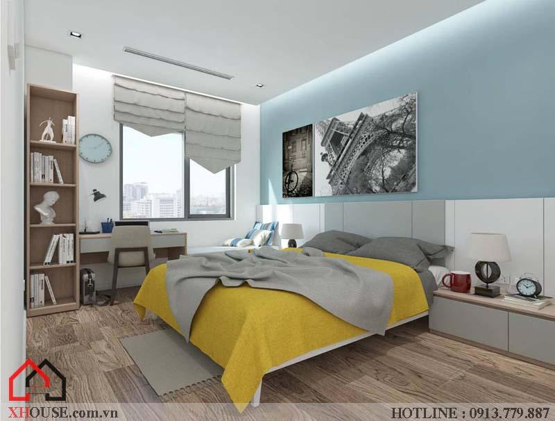 Mẫu thiết kế nhà đẹp 170m2 25