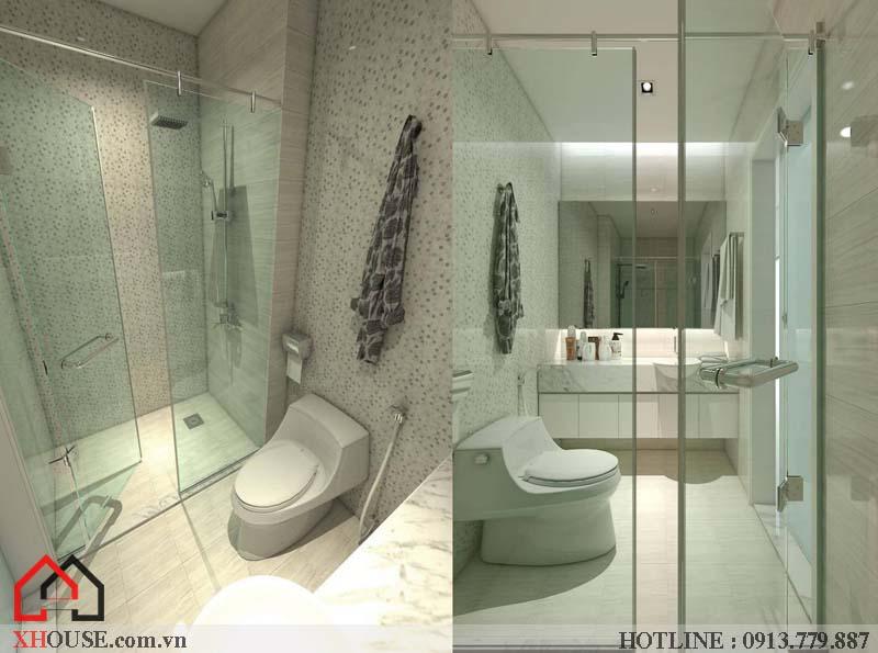 Mẫu thiết kế nhà đẹp 170m2 26