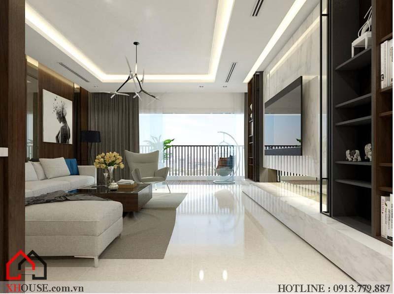 Mẫu thiết kế nhà đẹp 170m2 3