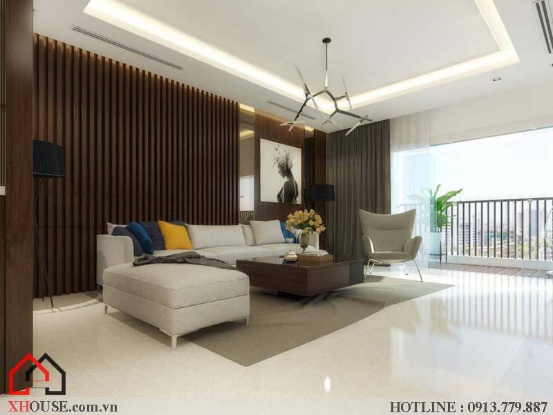 Mẫu thiết kế nhà đẹp 170m2 5