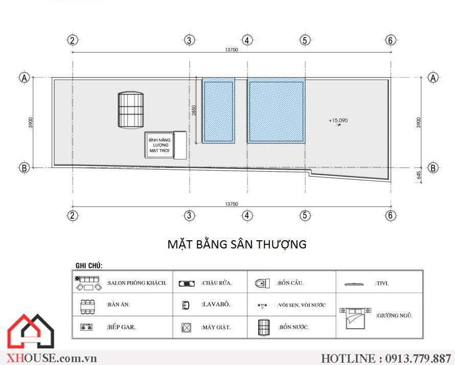 Thiet Ke Nha Pho 70m2 7